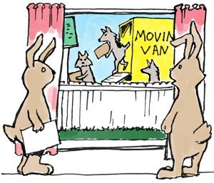 Moving bunnies