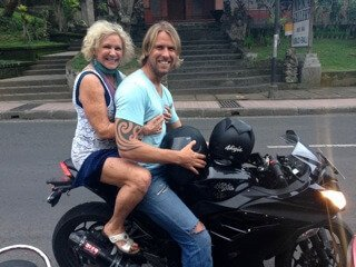 Bali motorcycle